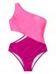 Clothes/footwear details SweatyRocks Women's Bathing Suits One Shoulder Cutout One Piece Swimsuit Swimwear Monokini (Swimsuit)
