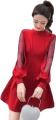 Clothes/footwear details TREND 2019 RED DRESS SLEEVES LANTERN GRI (Uncategorized)