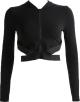 Clothes/footwear details Tight-fitting t-shirt zipper hooded swea (Shirts)