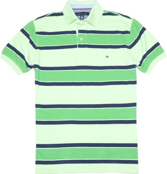 Tommy Hilfiger T Shirts Tommy Hilfiger Men Striped Green