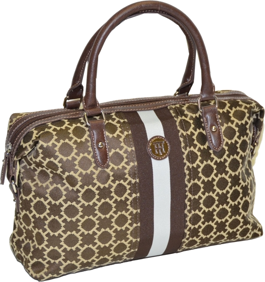 ffd8aac78cbc Tommy Hilfiger Hand bag - Tommy Hilfiger Women Bowler Satchel Handbag  Brown/Tan