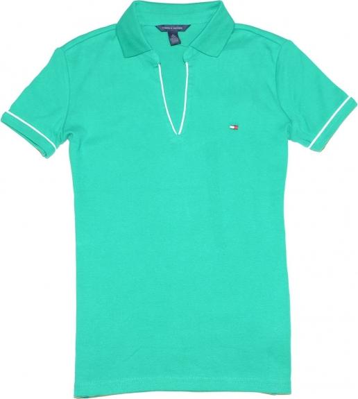 Tommy hilfiger t shirts tommy hilfiger women v neck for Amazon logo polo shirts