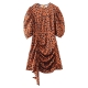 Clothes/footwear details Vintage Black Square Neck Elastic Long Sleeve Shirt (Dresses)