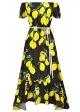 Clothes/footwear details Vintage Retro Women Ladies Floral Off Shoulder Maxi Swing Party Evening Long Dress (Dresses)