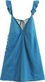 Clothes/footwear details Vintage Ruffled Backless Dress (Dresses)
