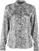 Clothes/footwear details Vintage loose snake print shirt (Long sleeves shirts)