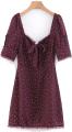 Clothes/footwear details Wild lace-up lace dress (Dresses)
