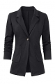 Clothes/footwear details Women's Casual Work Office Blazer Open Front Long Sleeve Cardigan Jacket (Suits)