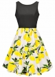 Clothes/footwear details Womens Sexy Vintage Retro O-neck Multi Color Summer Dress Ball Gown (Dresses)