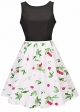Clothes/footwear details Women's Sleeveless Fit and Flare Cocktail Dress (Dresses)