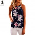 Topunder My look -  2018 Women Sleeveless T Shirt Flower Blouse Printed Tank Top Casual Vest by Topunder