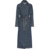 ALEXACHUNG Denim trench coat - Vespagirl