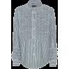 ALEXACHUNG Ruffled cotton shirt - Vespagirl