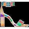 ALEXANDRE BIRMAN Rainbow sandals - Vespagirl