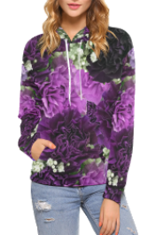 All Over Print Hoodie For Women - Passerella