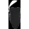 Black side straps design small vest fema - BODYSUIT