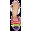CHARLOTTE OLYMPIA Isla rainbow sandals - Vespagirl