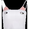 Cute childlike print contrast sling - TOP