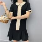 FECLOTHING My look -  Doll sweet wood earrings black dress