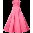 HalfMoonRun Dresses -  ELIZABETH KENNEDY satin strapless dress