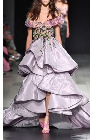 Floral Marchesa Gown
