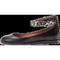 HalfMoonRun Flats -  GIVENCHY flat shoes with chain detail