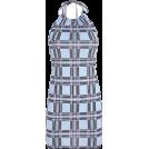FECLOTHING Dresses -  Halter halter strap plaid dress
