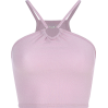 Heart-shaped hollow neck-mounted camisol - TOP