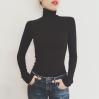 High collar wild black long sleeve jumps - BODYSUIT