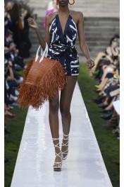 Jacquemus  Baci Raffia Bag - Catwalk