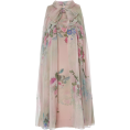 HalfMoonRun Dresses -  LUISA BECCARIA floral chiffon dress