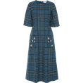HalfMoonRun Dresses -  LUISA BECCARIA plaid dress