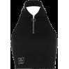 Lapel zipper leaking navel casual temper - TOP
