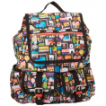 Amazon.com - LeSportsac Double Pocket Backpack Urban Fruit - Backpacks - $138.00