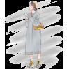 Long-sleeved lazy wind knit dress - DRESS