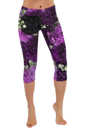 Low Rise Capri Leggings - Passerella