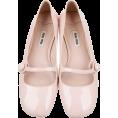 HalfMoonRun Classic shoes & Pumps -  MIU MIU light pink mary jane shoes
