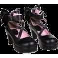 Jay Han Classic shoes & Pumps -  Milanoo Black Bow Lolita Shoes