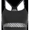 Netted fishnet vest - TOP