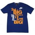 Amazon.com - Nike Men's Big Numbers T-Shirt Medium Royal Blue Orange - Shirts - $19.99
