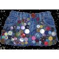 Nilaja - Button clutch - Bag - $25.00