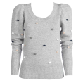 ONLY - ONLY - Multi dot knit top - Long sleeves t-shirts - 269,00kn  ~ $47.24