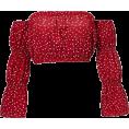 feclothing - One-shoulder flared sleeve Slim T-shirt - Shirts - $25.99