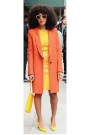 Orange und Gelb Kombination. - Catwalk