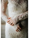 Pearle lace wedding gown ClairePettibone - Black tie