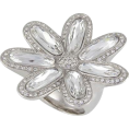 PetroZillia - Michelle Monroe Crystal Flower - Rings - 215,00kn  ~ $37.75