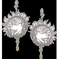 PetroZillia - Michelle Monroe Filigree Snake - Earrings - 170,00kn  ~ $29.85