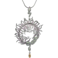 PetroZillia - Michelle Monroe Filigree Snake - Necklaces - 120,00kn  ~ $21.07