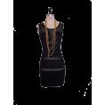 PetroZillia - Petro Zillia Black Mesh Dress - Dresses - 98,00kn  ~ $17.21