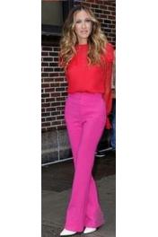 Pink und Rot - Catwalk